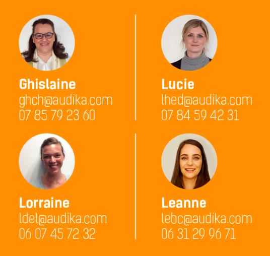 team Recrutement Audioprothésistes Audika